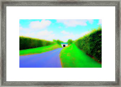 Tunnell On The  Thames Framed Print