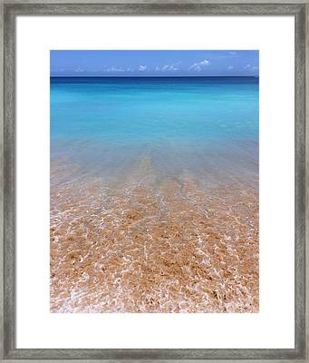 Tunnels Beach In Kauai Beach Landscape Photography 4 Framed Print by Ariane Moshayedi