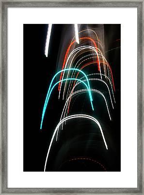 Tunnels Framed Print