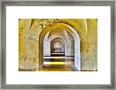 Tunnelvision Framed Print