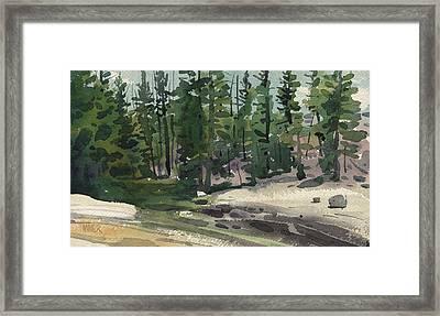 Tuolumne River Framed Print by Donald Maier