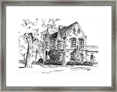 Tuomey Hall, University Of Alabama Framed Print by Jim Stovall