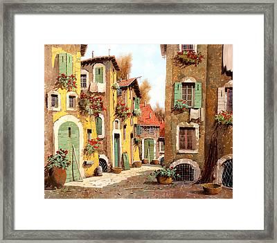 Tuorlo Framed Print by Guido Borelli