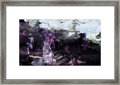 Tupac 536893901 Framed Print by Jani Heinonen