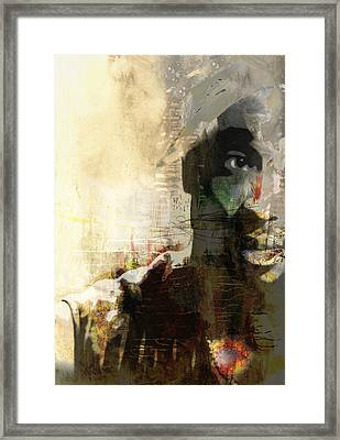 Tupac Graffitti 1167 Framed Print