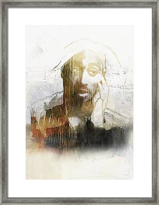 Tupac Graffitti 27 Framed Print