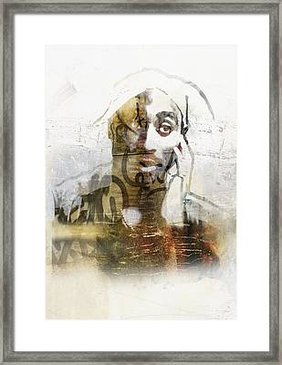 Tupac Graffitti 29 Framed Print