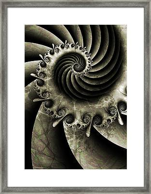 Turbine Framed Print by David April