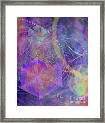 Turbo Blue Framed Print by John Beck