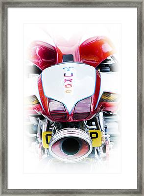 Turbo Charged Framed Print