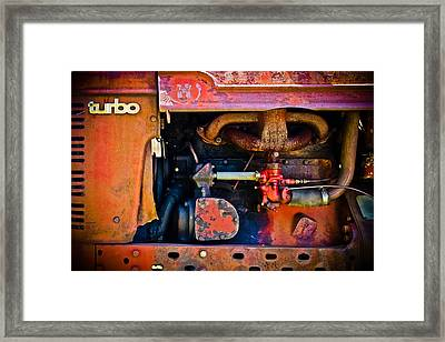 Turbo Tractor Framed Print by Colleen Kammerer