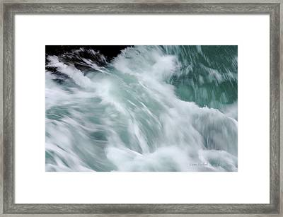 Turbulent Seas Framed Print