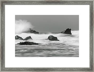 Turbulent Thoughts Framed Print