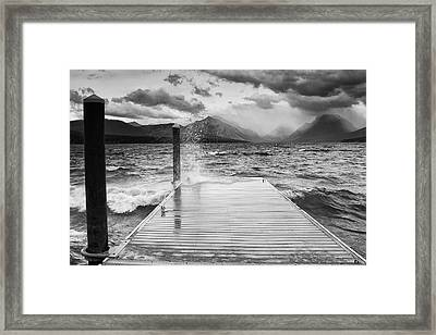Turbulent Waters Framed Print by Ansel Siegenthaler
