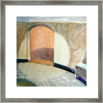 Turell Space Framed Print