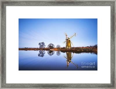 Turf Fen Mill Framed Print by Svetlana Sewell
