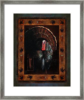 Turkey Lodge Framed Print