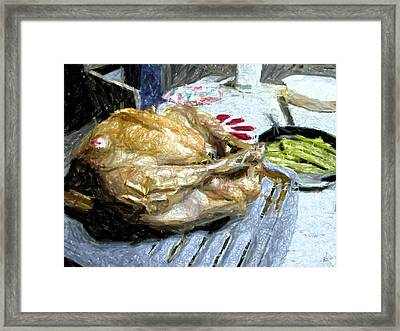 Turkey Framed Print by Michael Morrison