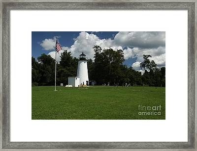 Turkey Point Lighthouse Framed Print