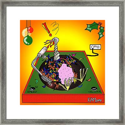 Turkey Table Framed Print