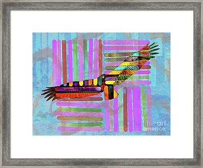 Turkey Vulture Framed Print by Robert Ball