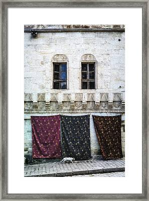 Turkish Carpets Framed Print