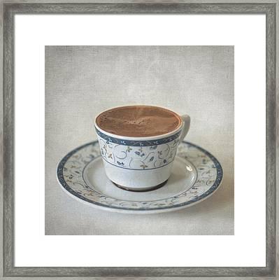 Turkish Coffee Framed Print by Taylan Apukovska