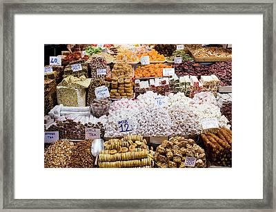 Turkish Delight In Istanbul Framed Print by Artur Bogacki