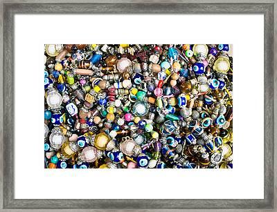 Turkish Jewellery Framed Print by Tom Gowanlock
