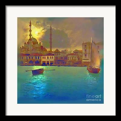 Muslim Artist Framed Prints