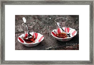Turkish Tea Framed Print
