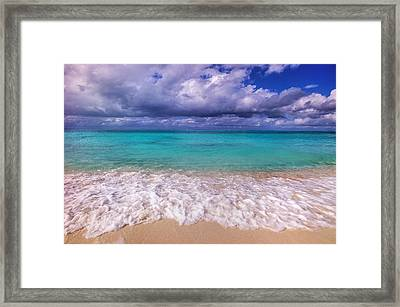 Turks And Caicos Beach Framed Print