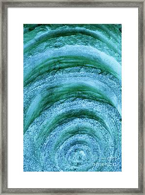 Framed Print featuring the digital art Turmoil by Wendy Wilton