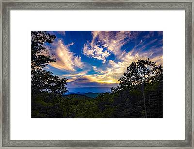 Framed Print featuring the photograph Turn Down The Lights. by Kendall McKernon