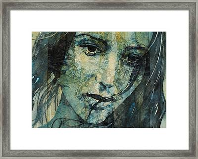 Turn Down These Voices Inside My Head Framed Print by Paul Lovering