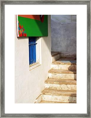 Framed Print featuring the photograph Turn Left by Prakash Ghai
