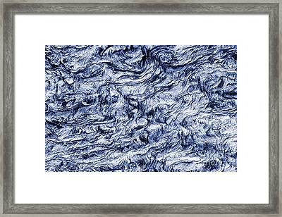 Turn Of A Wave Framed Print by Tim Gainey