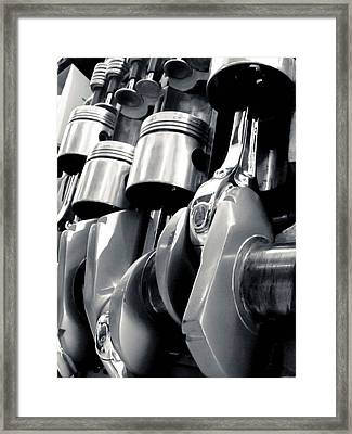 Turn The Crank Framed Print by Adam Smith