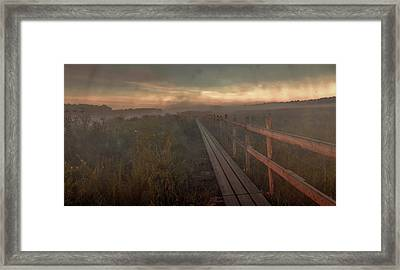 Turn To Infinity #g6 Framed Print