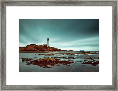 Turnberry Lighthouse Framed Print by Ian Good