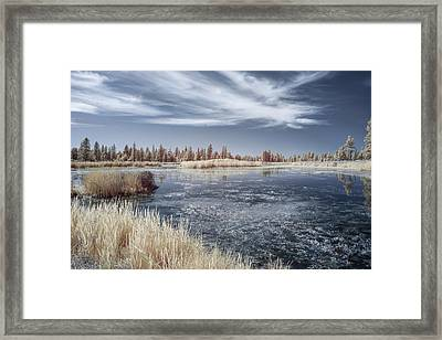 Turnbull Waters Framed Print by Jon Glaser