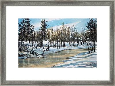Turnbull Wild Life Refuge 1 Framed Print