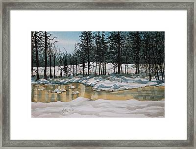 Turnbull Wild Life Refuge 2 Framed Print