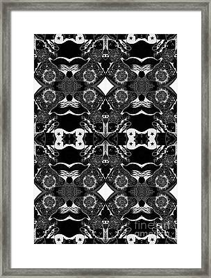 Turned Tables - Reverse Arrangement Framed Print by Helena Tiainen
