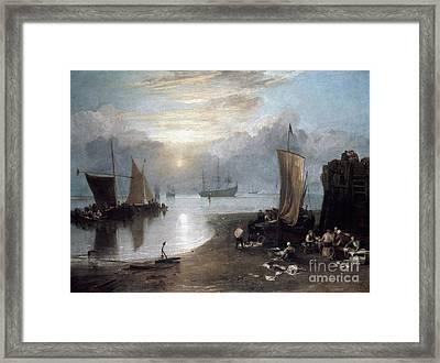 Turner: Sun Rising C1807 Framed Print by Granger