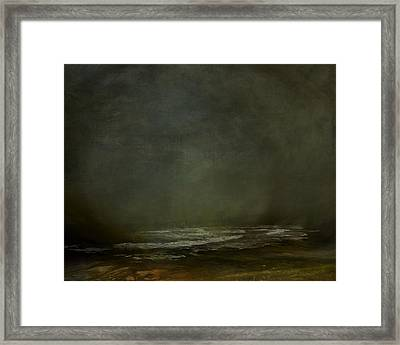 Dark Coastline Framed Print by Lonnie Christopher