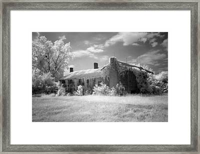 Turner's Mill House Framed Print by Fred Baird