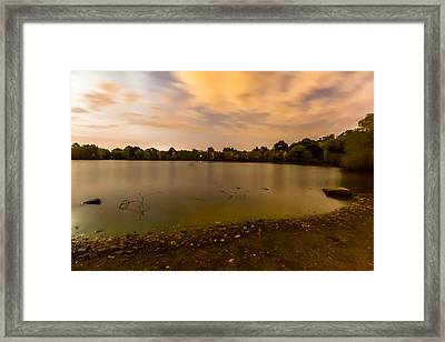 Turners Pond After Dark Framed Print by Brian MacLean