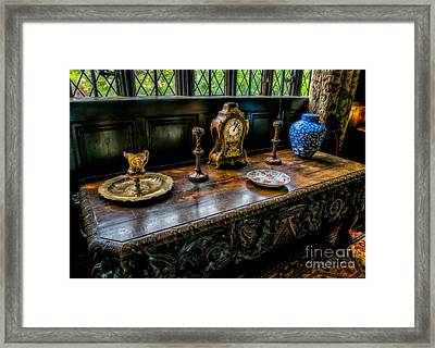 Turning Back Time Framed Print by Adrian Evans