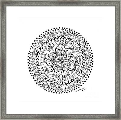 Turning Point Framed Print by Ana V Ramirez
